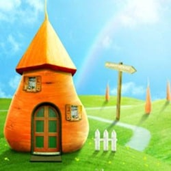 Create a Cute Bunny House in Photoshop